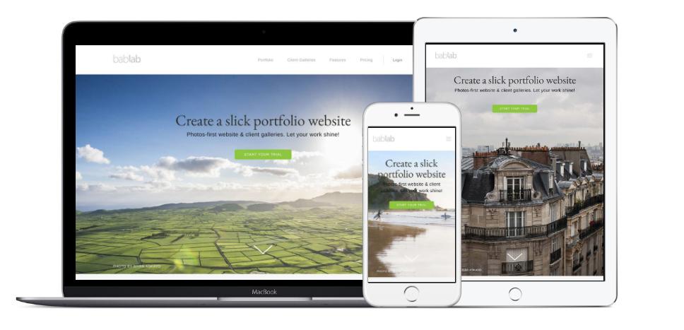 Portfolio Website at bablab.com
